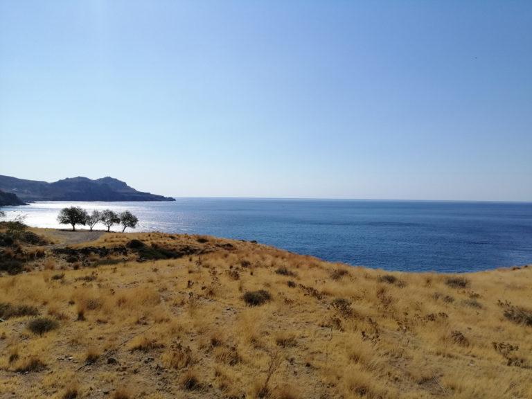Lentas, cliff walk to Petrakis beach and Trafula