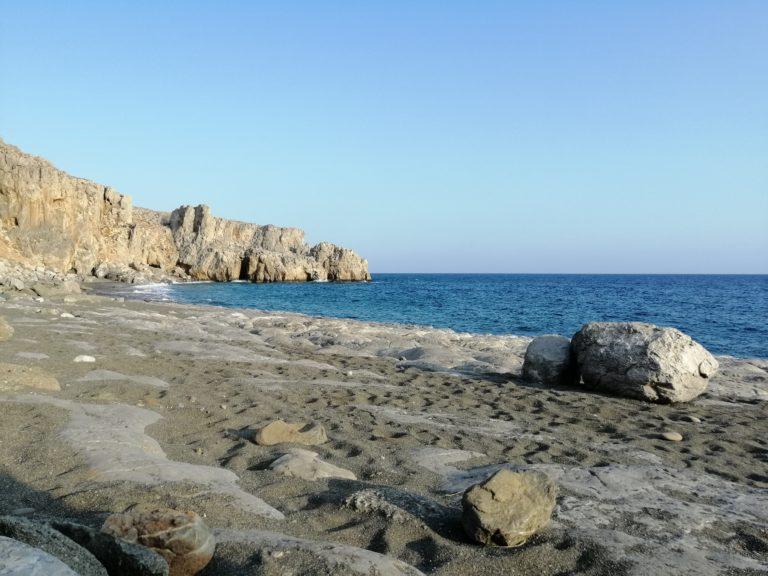 Trafulas Beach, east