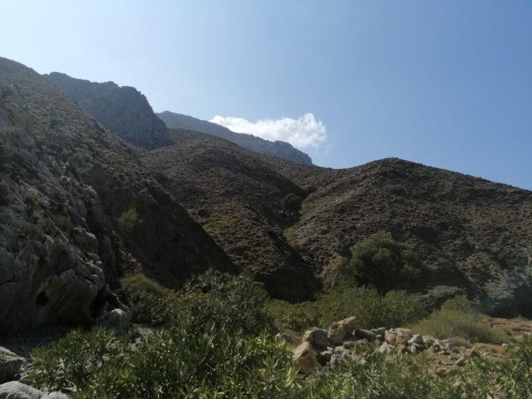 Mountain Scenery near Lentas