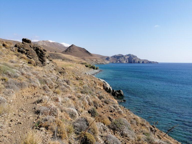 Lentas, cliff walk
