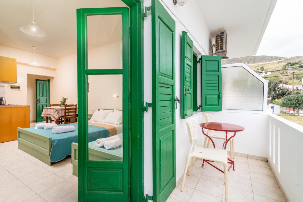Oasis room, balcony
